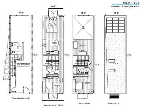 mountain architecture floor plans prefab friday michelle kaufmann s mkloft design