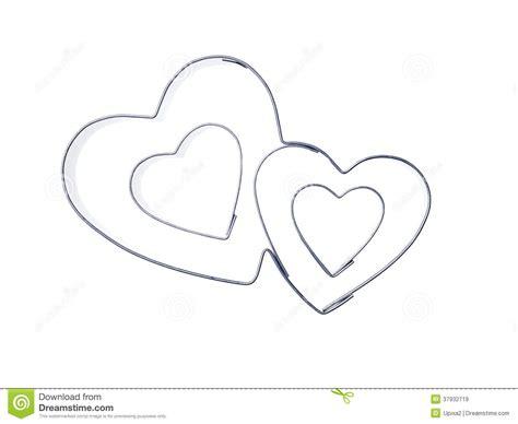 imagenes de corazones moldes moldes de metal del coraz 243 n im 225 genes de archivo libres de