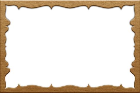 frame pattern images wood frame outline clipart clipground