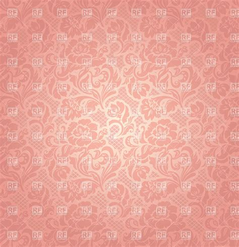 pink victorian pattern pink victorian wallpaper with floral ornament royalty free