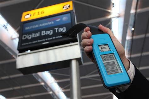 british airways printable luggage tags the end of paper luggage tags stuck at the airport