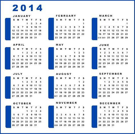 2014 calendar template with holidays 2014 calendar print 2 yourmomhatesthis