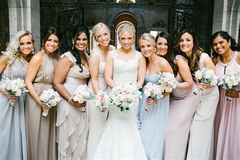 The Wedding by Pastel Bridesmaids Dresses Elizabeth Designs The