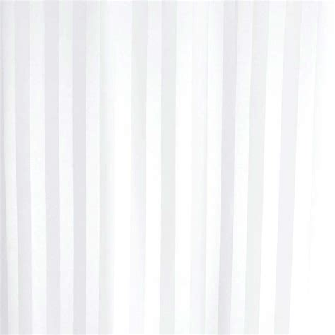 luxury fabric shower curtains uk satin stripe shower curtain 2400 x 1800mm white 69113