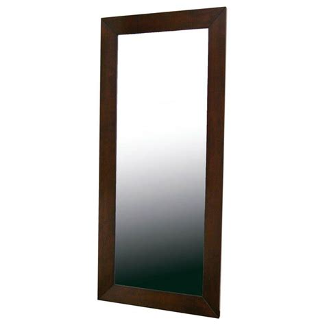 home interiors mirrors doniea brown wood frame rectangular floor mirror