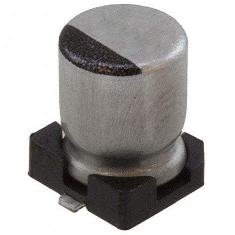 rubycon smd capacitor 6 3skv22m4x5 5 rubycon capacitors digikey