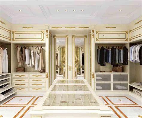 cabina armadio classica cabina armadio classica di lusso con finitura in foglia