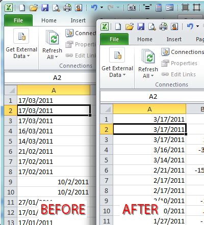 format date dmy php excel convert date format to number how to change date