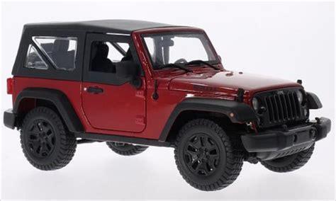 Maisto Jeep Wrangler Jeep Wrangler Black 2014 Maisto Diecast Model Car 1 18