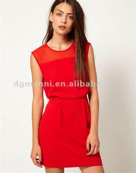 Gaun Pesanan Atas Nama Debby produsen pakaian luar negeri murah merah gaun pesta untuk