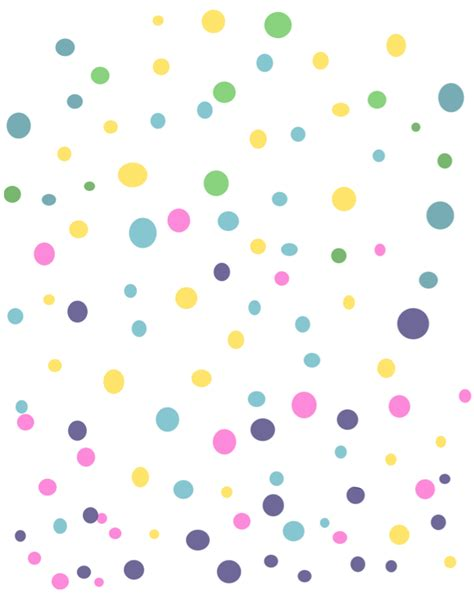 colorful dots ftestickers hairstencils colorful dots
