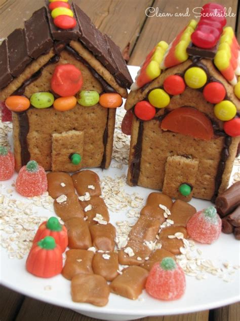 Gingerbread Home Decor thanksgiving quot gingerbread quot house clean and scentsible