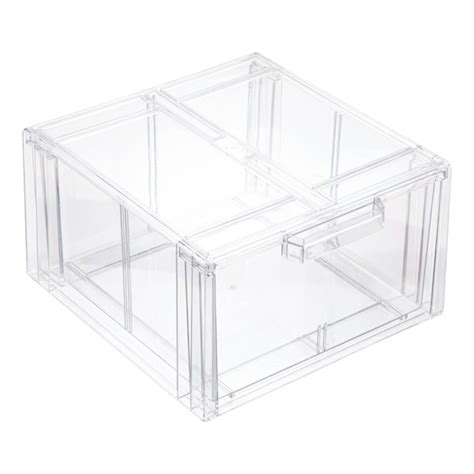 clear acrylic stackable drawers clear stackable sweater drawer the container