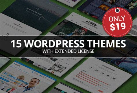 wordpress theme free license 15 top wordpress themes with an extended license
