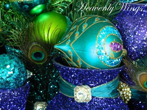 peacock christmas decorations peacock ornament pinterest