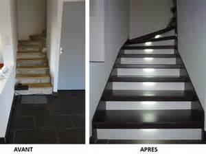 repeindre des escaliers en bois best with repeindre des escaliers en bois l escalier with