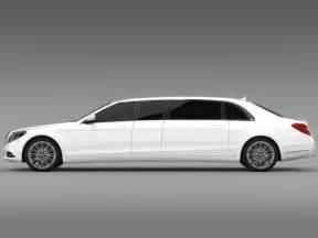 Creator Of Mercedes Mercedes S Klasse Pullman Limousine 2016 3d Model Max