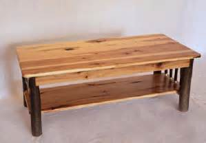 hickory coffee table carriage house furnishings