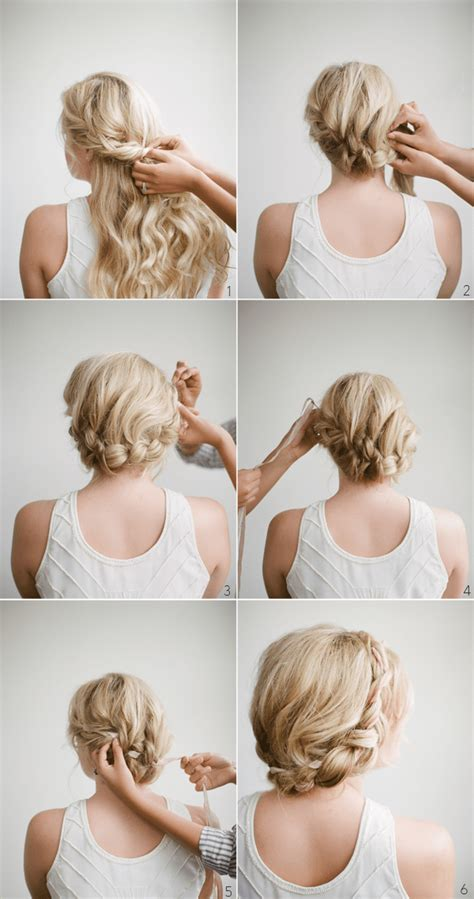 diy hairstyles in 5 minutes 12 easy diy hairstyles that will not take you more than 5