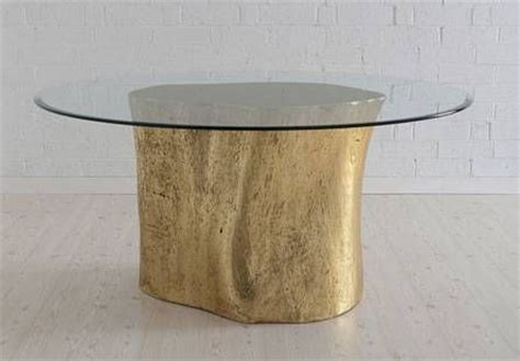 base for real tree modern stump dining table resin base cast from real tree