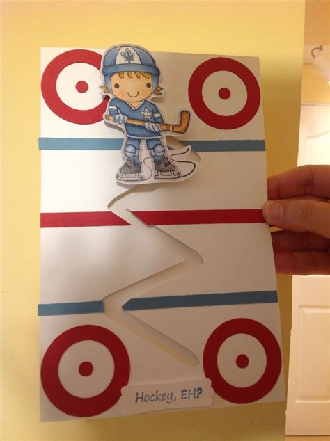 hockey crafts for 17 best images about cards on day