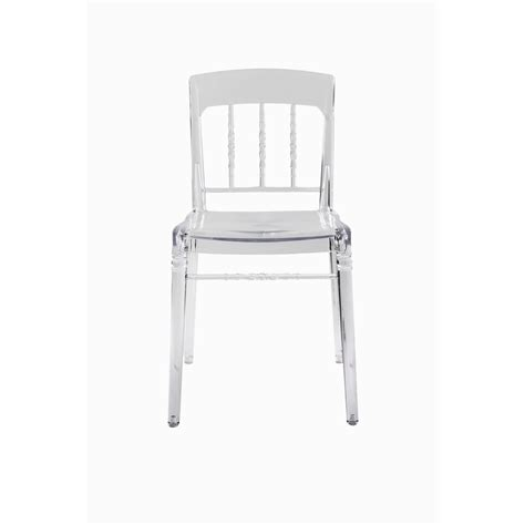 cristal sfera ghost style vanity chair