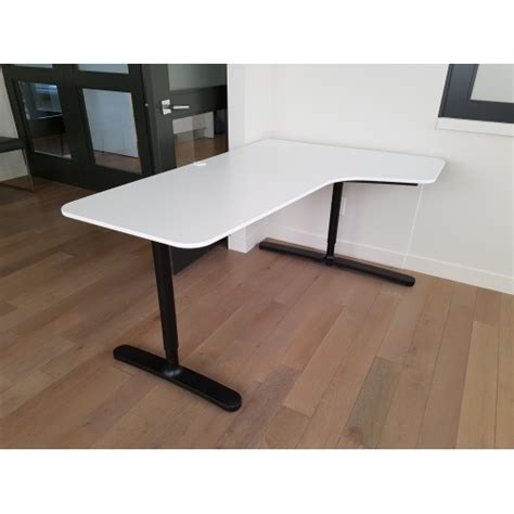 White Ikea Bekant Corner Desk W Screen Allsold Ca Buy Corner Desk White Ikea