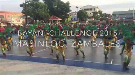 bayani challenge bayani challenge 2015 masinloc zambales
