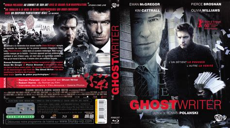 The Ghost Writer Raydvd Combo zone 2 lettre a