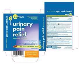 phenazopyridine urine color sunmark urinary relief maximum strength tablet mckesson