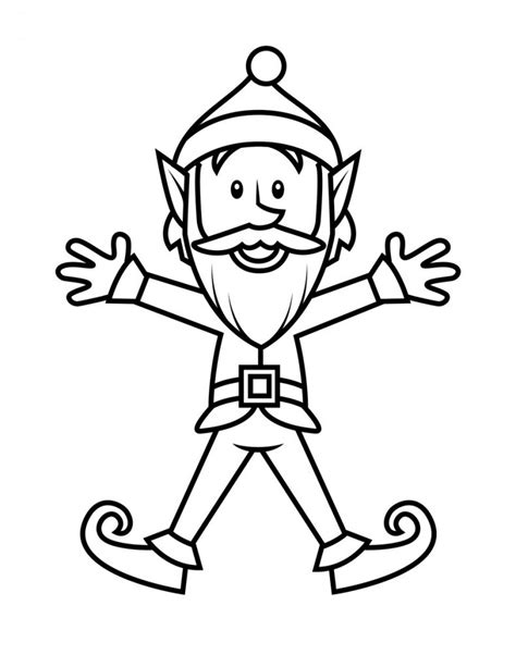 Free Printable Elf Coloring Pages For Kids Insect Drawings Clip Art