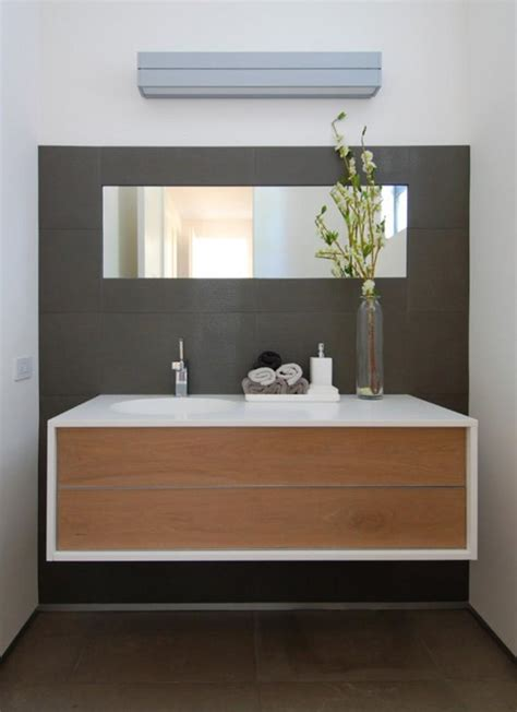 Floating Vanities For Bathrooms 10 Sleek Floating Bathroom Vanity Design Ideas Rilane