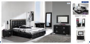bedroom furniture modern bedrooms coco black sf decobizz