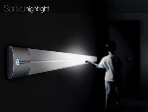 high tech bedroom gadgets nightlight simplified with touch yanko design
