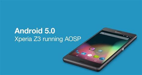 Hp Sony Xperia Android Lollipop sony shows aosp version of android 5 0 lollipop running on xperia z3 prime inspiration