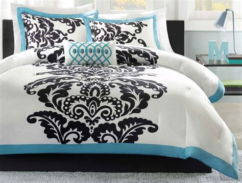 teal and white bedding teal and white bedding pine cone hill baja honfleur bedding collection decorate my house