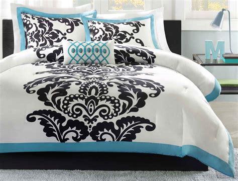 Teal And White Bedding by Teal And White Bedding Pine Cone Hill Baja Honfleur