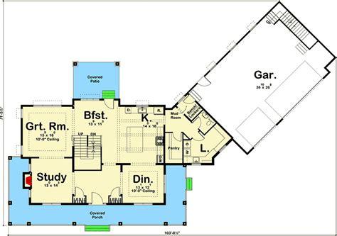plan 62668dj modern farmhouse with angled 3 car garage modern farmhouse with angled 3 car garage 62668dj