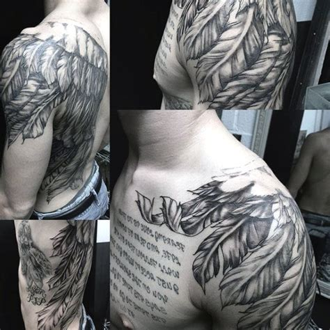wing shoulder tattoo top 100 best wing tattoos for designs that elevate