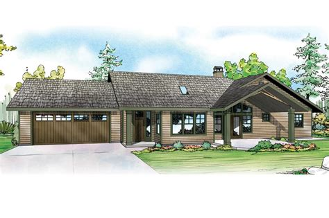 Lake Front House Plans by Ranch House Plans Elk Lake 30 849 Associated Designs