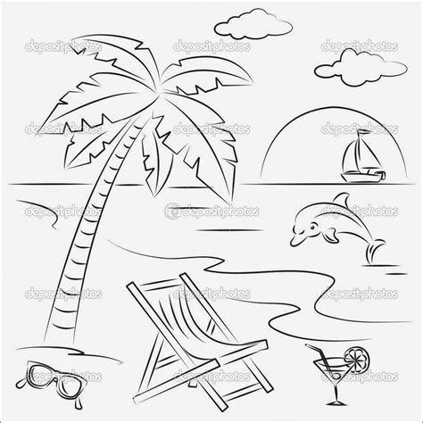 beach scenes coloring pages az coloring pages