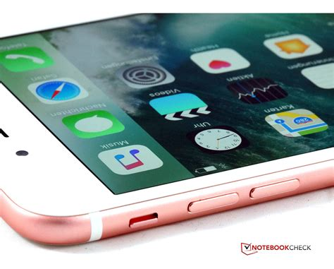 apple iphone 7 plus smartphone review notebookcheck net reviews