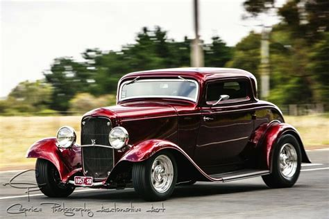 imagenes de hot rot 1932 ford 3 window coupe classic hot rod ford