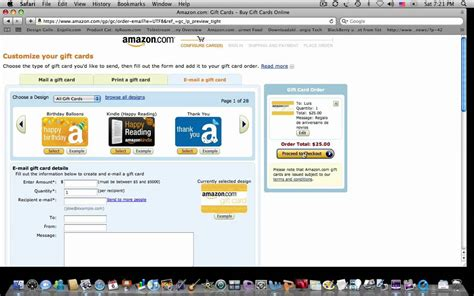 Amazon Gift Card Activity - amazon birthday gift card card design ideas