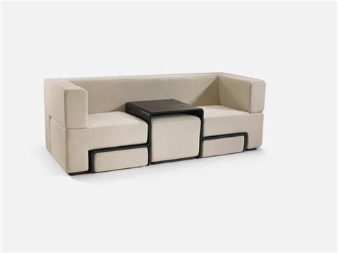 modular sofa coffee table and footrest in one furniture