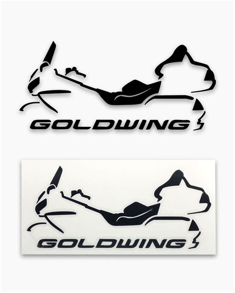 Honda Sticker Gold by Gold Wing Sticker Gwrra Store