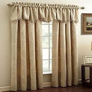 Croscill Valances Window Treatments - amazon com croscill window treatments lancaster 18 quot x 54 quot valance ivory home amp kitchen