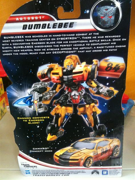 Transformers Deluxe Exclusive Canister Bumblebee transformers of the moon 2011 bumblebee walmart exclusive deluxe class parry
