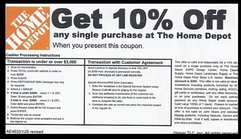 January Home Depot Coupons   Printable Coupons Online