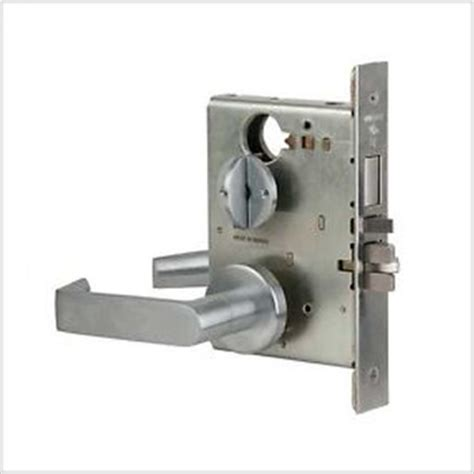 How To Change Commercial Door Lock by Schlage Commercial L Series Mortise Lock W 06 Lever